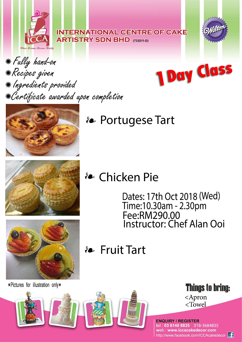 Tart and pie class