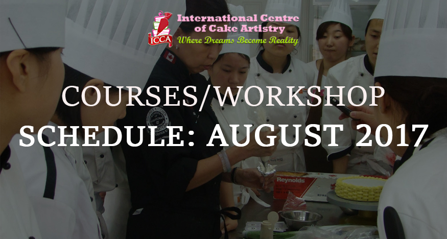 icca course schedule august 2017