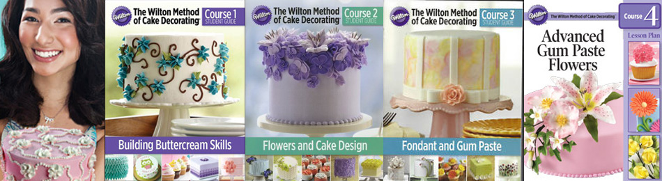 Wilton Method Cake Decorating Course 1-4
