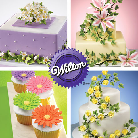 Wilton Method Course 4 advanced gum paste flowers