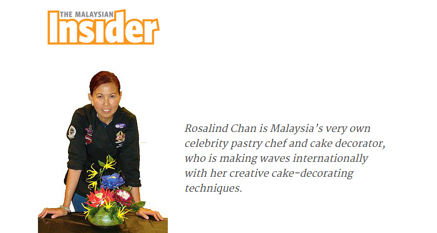 Icing Her Way to Top of Pastry World-The Malaysian Insider